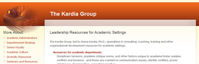 The Kardia Group - Leadership Resources for Academic Settings
